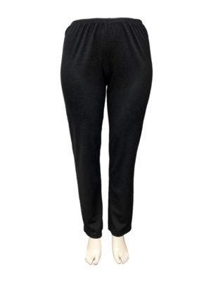 N R Roma Winter Straight Leg Pants - Black