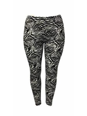 Hayley Joy Activewear Leggings / Zebra