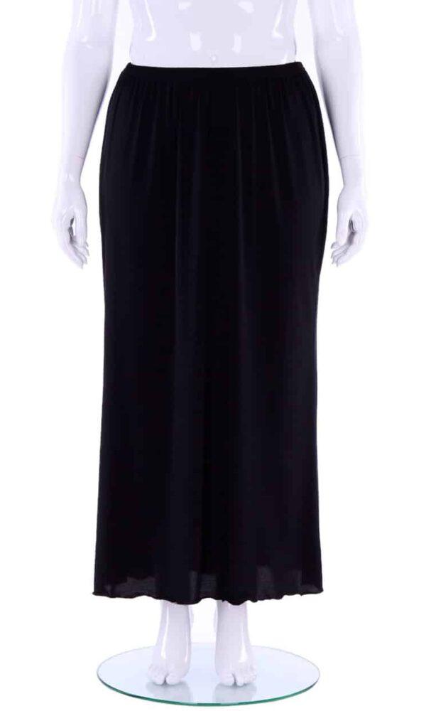 Hayley Joy Full Length plain A-Line skirt