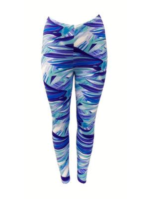 Hayley Joy Activewear Leggings / Sea Breeze