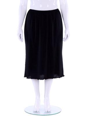 Hayley Joy Mid-Calf plain A-Line skirt