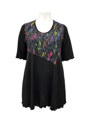 Hayley Joy Miracle Angle Top / Multi Pop