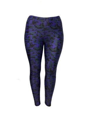 Hayley Joy Activewear Leggings / Purple Camo